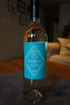 Pinot Grigio, cellared by Artisan Wine Co in Oliver, BC