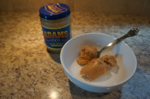 Natural Peanut Butter for the dipping sauce.
