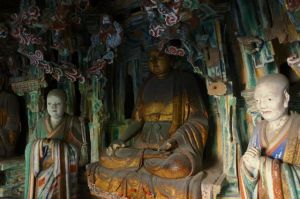 This is the only monastery that represents 3 religions: Buddhism, Taoism and Cunfucianism.
