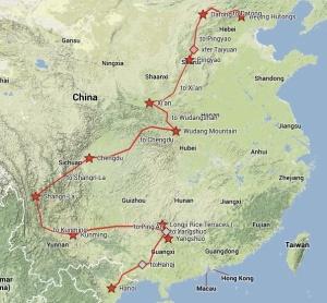 China Map - World Trip