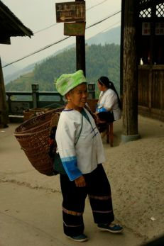 The village population is more than 800 people. All the residents are Zhuang people, with the same family name of Liao.