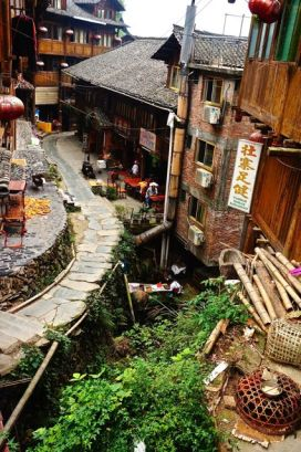 The village is remote and with every turn of the pathway there is a new discovery.