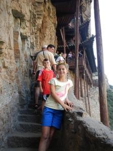 Hanging Monastery Poles
