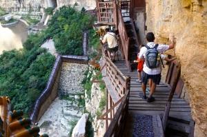 Hanging Monastery Stairs