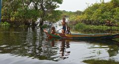 Battambang Kids on the River