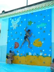 Dai Nam Climbing Wall - Emma