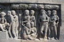 Borobudur carving