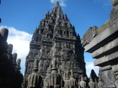 From Shiva's looking at Vishnu's