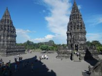 The temple square