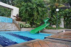 The slide pool
