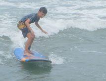 Jacob surfing
