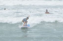 Jacob surfing