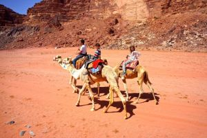 3-some Camel Riding
