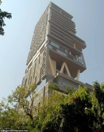 Mumbai's Most Expensive House... 5 people, 27 floors and 400,000 sq ft