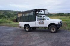 Our Safari truck