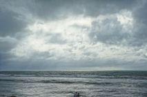 Break in the clouds in Kuta