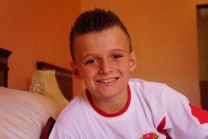 Jacob new haircut