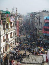The notorious Paharganj in Delhi