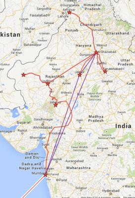 India Itinerary