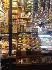 The spices of the Egyptian Bazaar