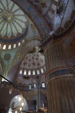 Blue Mosque on the inside.