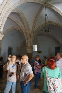 Room where people think the last supper took place