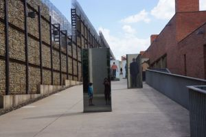 The entrance to the Apartheid Museum