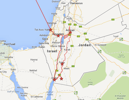 Our Jordan and Israel Itinerary