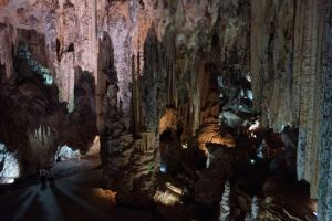 Magnificent  caves near Nerja