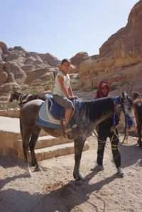 Emma's horse ride