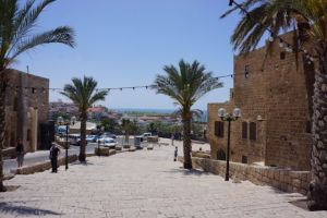 Visiting the old town of Jaffa