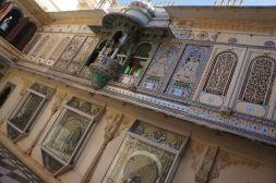 Inside the Udaipur palace