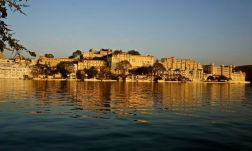 Udaipur palace from the lake
