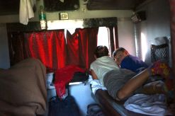 Over night train ride to Udaipur