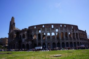 Colosseum outside view