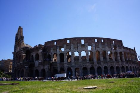 Colosseum outside view